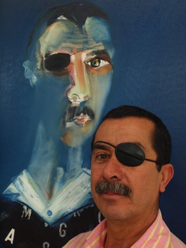 Autorrertrato de Duván López.