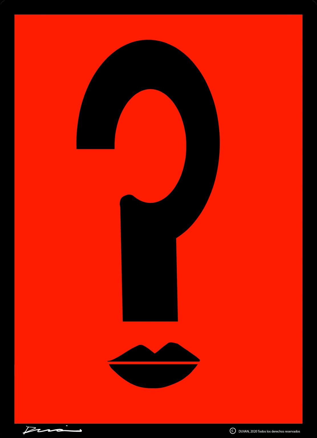 La Pregunta. Obra del Maestro Duván