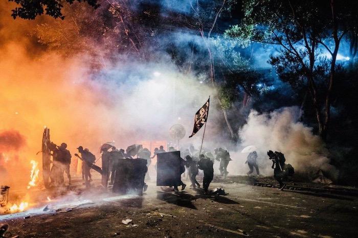 Protestas en Hong Kong. Foto de Diego Marin 2