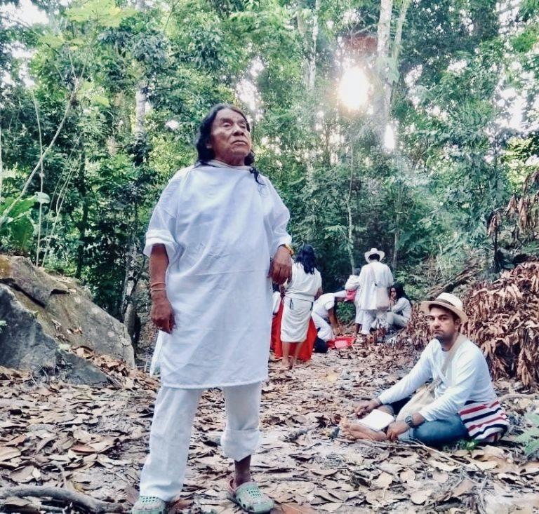 Mamo Ramón Gil del pueblo Wiwa