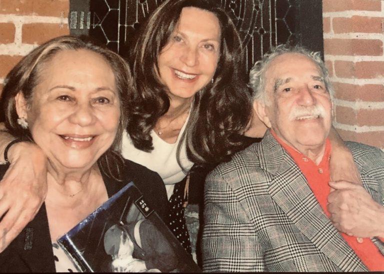 Mercedes Barcha, Nuria Amat y Gabo