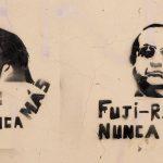 Graffiti en Perú contra el Fujimorismo