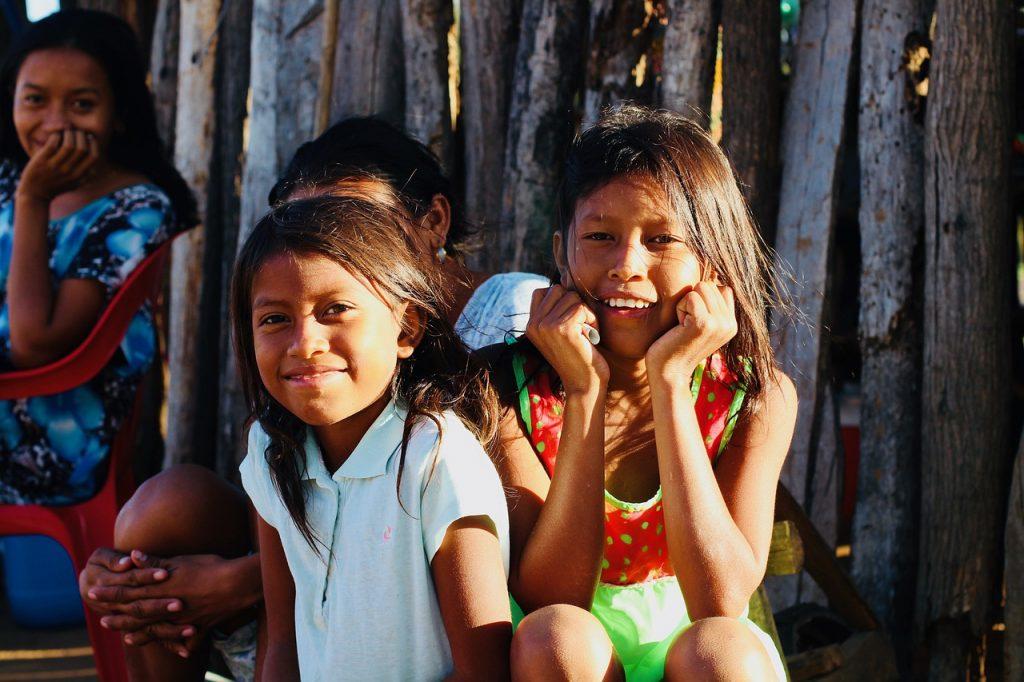 Niñas wayuu