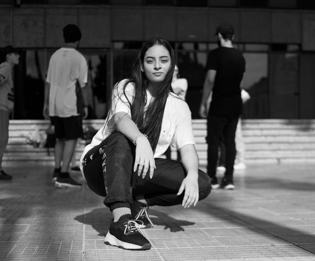 Isabella Ospina de integrante de Legacy Movement