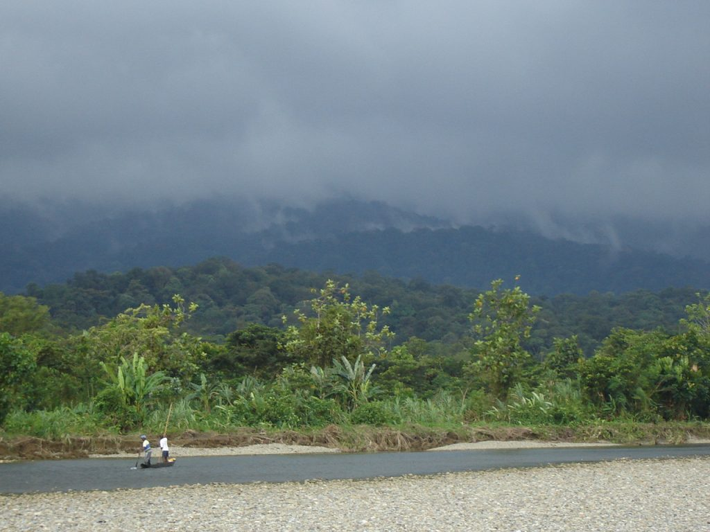 Río Jodi, Pacífico colombiano