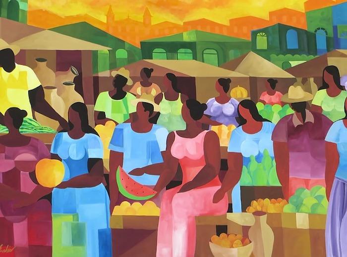 Pintura en Bahia, Brasil