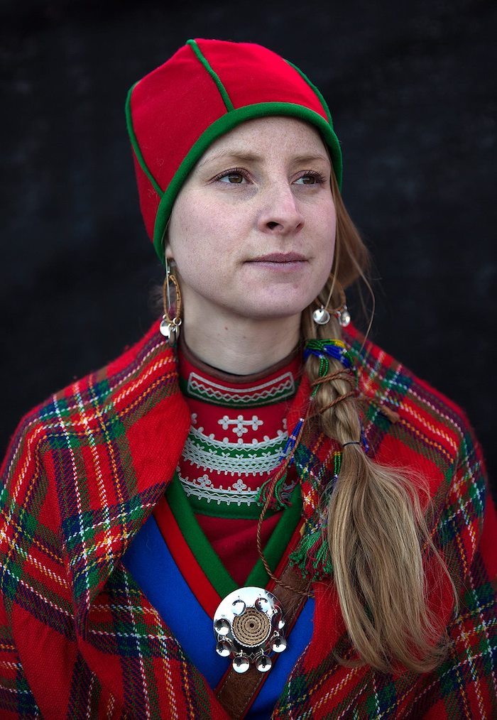 Eva Fjelheim, escritora sami