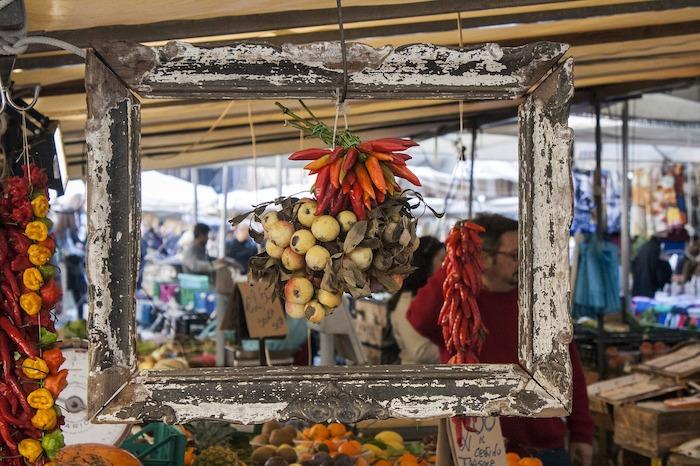 Mercado en Italia