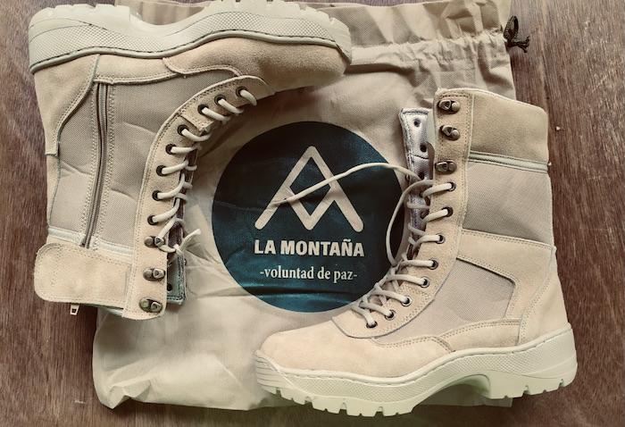 Botas.Confecciones La Montaña. Imagén de Martín Batalla.