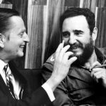Olof Palme con Fidel Castro