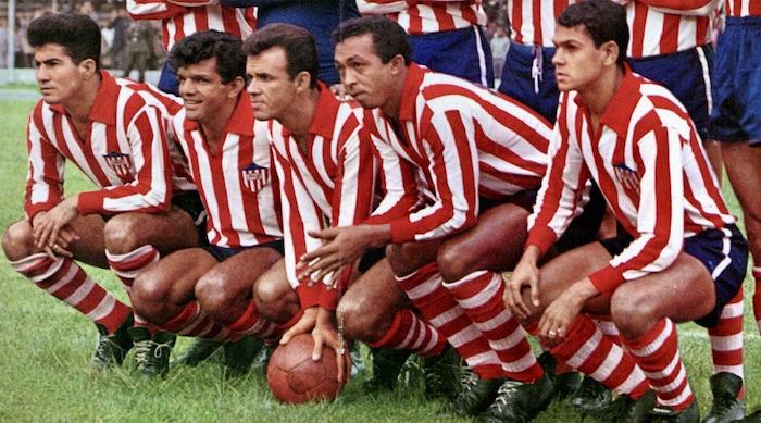Junior de Barranquilla. Delantera de 1967.