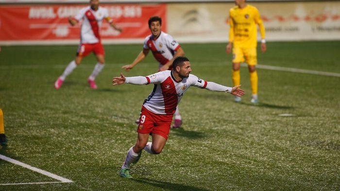 Manuel Salinas, goleador de C.E. L'Hospitalet.de