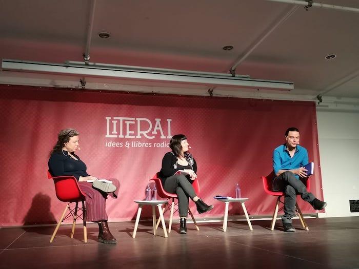 Alfredo Cohen en la Fira La Literal de Barcelona