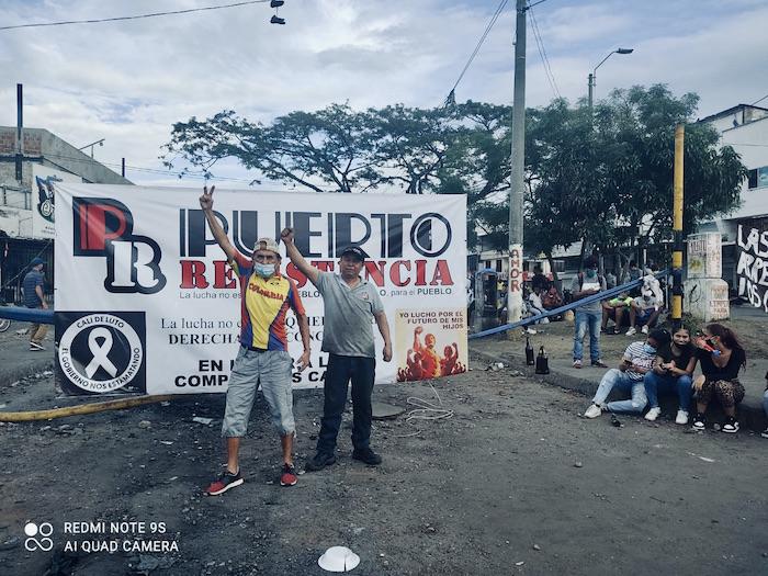 """""""Puerto Resistencia"""", Cali"""