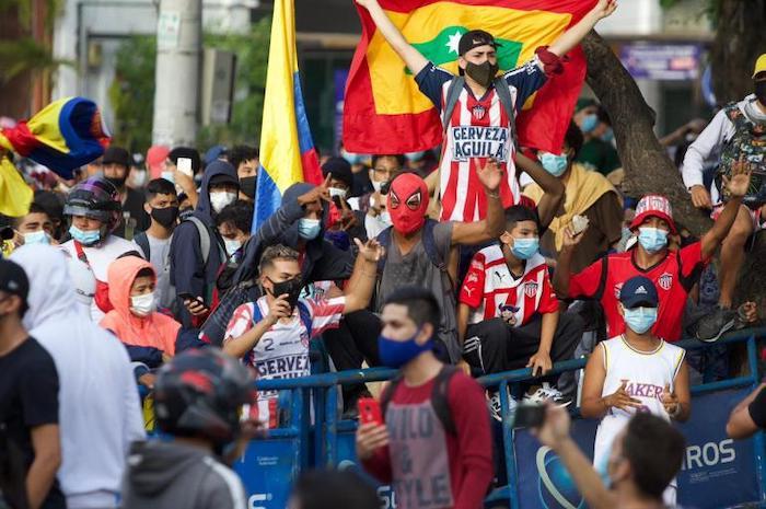 Barristas del Junior de Barranquilla