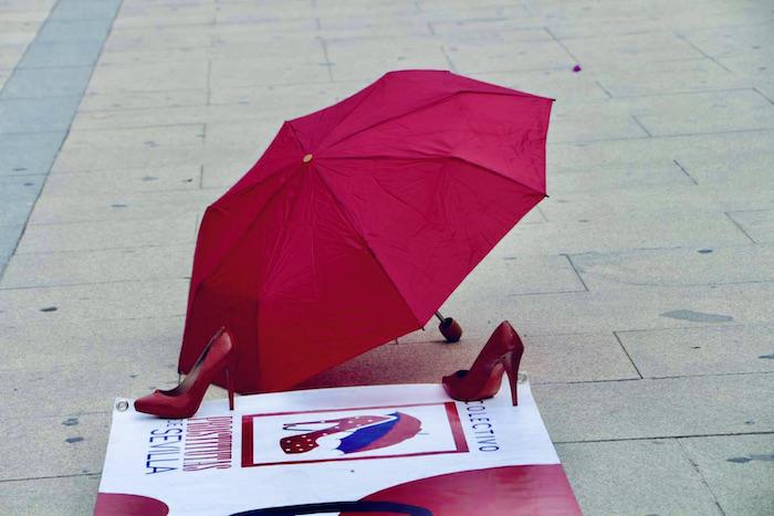 Imagen del colectivo de prostitutas de Sevilla, España.